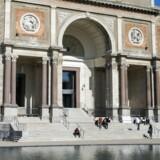 Besøgstallet hos de større museer er faldet, efter den fri entre blev afskaffet i sommer. Blandt andet Statens Museum for Kunst, afbilledet ovenover.