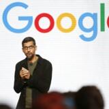 Sundar Pichai har i to år været ansvarlig for alle Googles aktiviteter. Nu træder han ind i bestyrelsen for moderselskabet, Alphabet. Arkivfoto: Beck Diefenbach, Scanpix