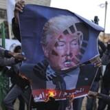 Trumps udmelding om at flytte den amerikanske ambassade har ført til protester mange steder.