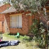 (ARKIV) Den danske statsborgers hus i Bloemfontein Sydafrika fotograferet den 4. november 2015. Den danske statsborger er ved en domstol i Sydafrika kendt skyldig i medvirken til mord på sin kone, voldtægt og ulovlig våbenhandel, skriver Ritzau mandag den 6. november 2017.. (Foto: CHARL DEVENISH/Scanpix 2017)