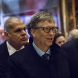 USAs kommende præsident, Donald Trump, har travlt med at mødes med eliten i USA. Tirsdag ankom Microsoft-medstifter Bill Gates til møde i Trump Tower, onsdag samles alle teknologigiganternes topfolk til en samtale om vigtige spørgsmål. Arkivfoto: John Taggart, EPA/Scanpix