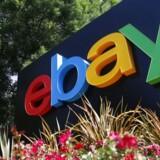 Nettooverskuddet hos det amerikanske eBay Inc. faldt i andet kvartal. eBay i San Jose, Californien. Arkivfoto.