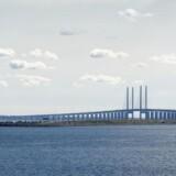 Der er kun sket materielle skader ved uheld, som onsdag førte til spærring af Øresundsbroen, siger politiet.
