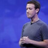Selv om han er topchef for verdens største, sociale netværk, er Mark Zuckerberg nødt til at bekymre sig om sikkerheden på også sine andre konti på sociale medier. Arkivfoto: Stephen Lam, Reuters/Scanpix