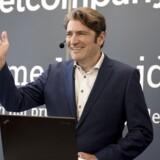 Administrerende direktør i Netcompany, André Rogaczewski. Netcompany, der laver it-løsninger, vil på børsen til juni. (Foto: Linda Kastrup/Ritzau Scanpix)