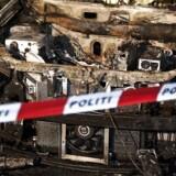 Arkivfoto: »Branden er slukket på første etape. Røgdykkere er sendt op på anden etage. Ifølge de oplysninger, som vi har fået af brandvæsnet, kan de ikke længere se flammer,« siger Bjørn Handegard fra politiet til Dagbladet.