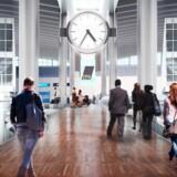 Den kommende gangbro i Kastrup Lufthavns terminal 3