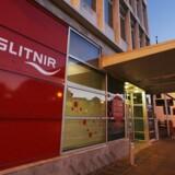 Arkivfoto: Den islandske bank Glitnir.