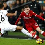 Efter 14 ligakampe på stribe uden nederlag gik det mandag aften galt for Liverpool i Premier League.