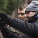 Pilou Asbæk og filmens instruktør, Arto Halonen. Foto: Nikola Predovic