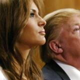 Donald Trump og hans kone Melanie.