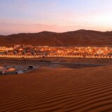 Aramcos Shaybah-naturgasprojekt i Saudi Arabia