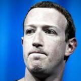 Facebooks topchef, Mark Zuckerberg. Arkivfoto: EPA/ETIENNE LAURENT/Ritzau Scanpix.