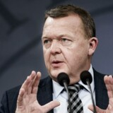Statsminister Lars Løkke Rasmussen (V) holder pressemøde for at gøre status og redegøre for regeringens planer for første halvår af 2018. Pressemødet holdes i spejlsalen tirsdag den 9 januar 2018.