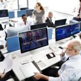 510 ansatte i finanssektoren fik i 2017 en fyreseddel. Det er et fald på 690 personer fra 1200 i 2016, skriver Finansforbundet. Foto: Iris.