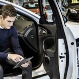 Arkivfoto. Bilforhandleren Andersen & Martini solgte færre nye biler i 2017 end året forinden, mens salget af selskabets ejendom i Lyngby trak bundlinjen et godt stykke op sidste år.