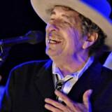 Musikeren Bob Dylan, optræder her til The Hop Festival i Paddock Wood, England, 30. juni 2012.