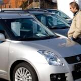 Der kigges ny bil hos Suzuki bilforhandler i Birkerød