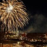 Københavns Politi og Forsvaret arbejdede sammen fredag, da de sprængte 29 krysantemumbomber. Fyrværkeriet blev fundet i en busk i Vigerslevsparken i Valby. Arkivfoto. Free/Rasmus B. S. Hansen