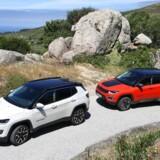 Den nye Compass er Jeeps bud på en kompakt SUV, en konkurrent til så forskellige biler som Nissan Qashqai og BMW X1. Den er nu klar til salg hos de tre danske forhandlere