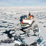 Nordpolen er varmere, end nordpolen burde være, viser målinger fra Danmarks Meterologiske Institut.