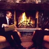 USAs præsident, Ronald Reagan, og Sovjetunionens leder, Mikhail Gorbatjov, mødtes flere gange – her i Genève 1986