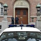 Arkivfoto: Det retlige efterspil er i gang ved Retten i Aarhus. Her er en 25-årig mand med somalisk baggrund tiltalt for at have fremstillet og opbevaret bomben i kælderen.