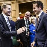 Finansminister Kristian Jensen og DF-formand Kristian Thulesen Dahl har hidtil haft svært ved at finde sammen i et tæt og fortroligt partløb, men nu arbejder Venstres kronprins målrettet på at forbedre sit forhold til DF-lederen og Dansk Folkeparti.