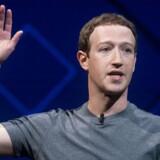 Facebooks stifter vil blive grillet to dage i træk - tirsdag og onsdag - når han skal svare på spørgsmål om databeskyttelse i Kongressen i næste uge. Foto: Noah Berger/Ritzau Scanpix