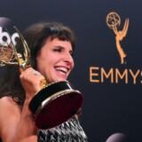 A Susanne Bier modtog en Emmy for »natportieren« i september sidste år. Foto: Frederic Brown/Scanpix.