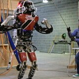 Boston Dynamic's Atlas-robot under en test. Arkivfoto: Scanpix