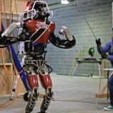 Boston Dynamic's Atlas-robot under en test. Arkivfoto: Scanpix