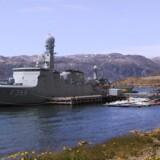Forsvaret genopliver den hendøende Flådestation Grønnedal i Arsuk Fjord i Sydvestgrønland. Scanpix/Kirsten Petersen