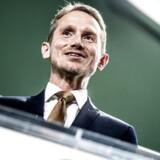 Finansminister Kristian Jensen præsenterer torsdag den 31. august 2017 regeringens forslag til finansloven for 2018 i Rentekammeret i Finansministeriet.. (Foto: Mads Claus Rasmussen/Scanpix 2017)