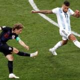 Luka Modrićs langskud i den kroatiske nedsabling af Argentina er et af VM-turneringens hidtil smukkeste mål.