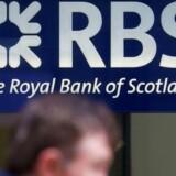 Arkivfoto. Royal Bank of Scotland, der gik ned og måtte reddes efter finanskrisen, er stadigvæk voldsomt hårdt ramt.