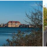 Guldborgsund Kommune havde i 2012 den tvivlsomme ære af at være det første sted i Danmark, hvor en mobilmast blev pillet ned, fordi kommunen tog for høj leje. Det er ændret aldeles under borgmester John Brædder (til højre), som hellere vil have ordentlig mobil- og bredbåndsdækning overalt. Foto: Iris/Scanpix og Guldborgsund Kommune