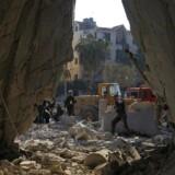 Arkivfoto: Drabene fandt sted i Idlib-provinsen i det nordvestlige Syrien.