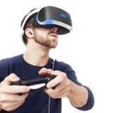 Virtual reality-system til PlayStation 4.