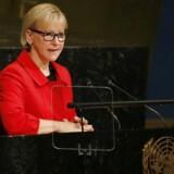 Arkivfoto. Udenrigsminister Margot Wallström ønsker politisk handling efter international kampagne om sexchikane.