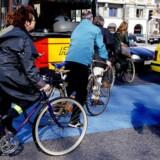 Arkivfoto. Over de senere år mener danskerne, at trafikken er blevet farligere, adfærden er mere egoistisk og mindre hensynsfuld. Det viser ny undersøgelse foretaget af Kantar Gallup for Gjensidige Forsikring.