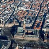 Arkivfoto af København.