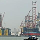 Maersk Drilling har fået en kontrakt på 86 dage til boreriggen Maersk Resolve. Arkivfoto.