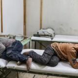 Syriens præsident, Bashar al-Assad, siger søndag, at hans styrker skal fortsætte den militære operation i det østlige Ghouta. Assads regeringsstyrker beskyldes af vesten for at have brugt kemiske våben EPA/MOHAMMED BADRA