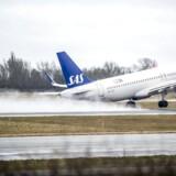 Knap 2,4 millioner fløj med SAS' rutefly i marts. Det er 2,6 procent færre end i marts 2017.