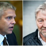 Socialdemokratiets John Dyrby Paulsen (tv.) og Liberal Alliances Villum Christensen skal efter planen dele borgmesterposten imellem sig i Slagelse.