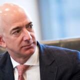 Stifteren af Amazon, Jeff Bezos, har i 2017 overhalet Bill Gates som verdens rigeste mand. Foto: Drew Angerer/Getty Images/AFP