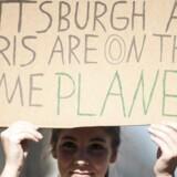 I Pittsburgh, USA er mange borgere utilfredse med Trumps beslutning om at forlade klimaaftalen.