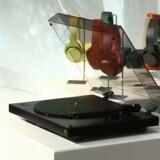 Sonys nye grammofon kan både afspille vinylplader og konvertere musik op til høj opløsning (såkaldt »hi-res audio«). Foto: Sony