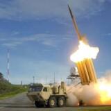 Arkivfoto: USA vil teste THAAD missiler i Alaska, som et modsvar mod Nordkoreas agression. Et THAAD missil bliver affyret under en test. Fotoet er udleveret af USAs forsvarsministerium.